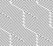 Vector seamless simple background abstract geometric lines patte stock illustration