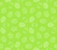Vector seamless simple pattern with easter eggs. Easter holiday Royalty Free Stock Image