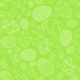 Vector seamless simple pattern with easter eggs. Easter holiday Stock Images