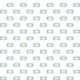 Vector seamless simple pattern of emerald stock image