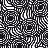 Vector seamless simple pattern. Repeating abstract Stock Image