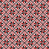 Vector seamless slavic ethnic pattern.. Vector seamless slavic ethnic  (belorussian, russian) pattern Stock Images