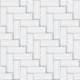 Vector seamless square white and black pattern - v Royalty Free Stock Photography