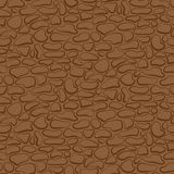 Vector. Seamless stone wall. brown pattern Stock Photos