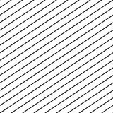 Vector seamless stripe pattern. Repeat diagonal parallel lines. Stock Images