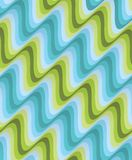 Vector seamless striped pattern Stock Photography