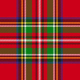 Vector seamless tartan plaid pattern Royalty Free Stock Photo