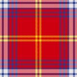 Vector seamless tartan plaid pattern Royalty Free Stock Image