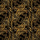 Vector seamless texture. Abstract beautiful background, royal, damask ornament, vintage, rich seamless pattern, luxury, artistic vector wallpaper, floral, oldest Stock Photo