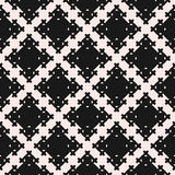 Vector seamless texture, abstract geometric pattern with square Stock Photo