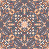 Vector seamless texture. Beautiful colored pattern for design and fashion with decorative elements Royalty Free Stock Image