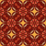 Vector seamless texture. Beautiful colored pattern for design and fashion with decorative elements. Portuguese Royalty Free Stock Photos