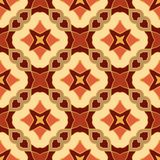 Vector seamless texture. Beautiful colored pattern for design and fashion with decorative elements. Portuguese Stock Image