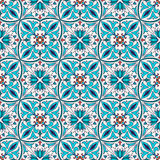 Vector seamless texture. Beautiful colored pattern for design and fashion with decorative elements Royalty Free Stock Photography