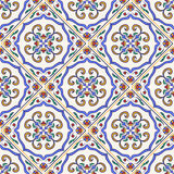 Vector seamless texture. Beautiful colored pattern for design and fashion with decorative elements Royalty Free Stock Photo