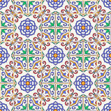 Vector seamless texture. Beautiful colored pattern for design and fashion with decorative elements Royalty Free Stock Photos