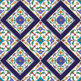 Vector seamless texture. Beautiful colored pattern for design and fashion with decorative elements Stock Images