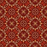 Vector seamless texture. Beautiful colored pattern for design and fashion with decorative elements. Portuguese Royalty Free Stock Photography