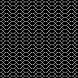 Vector seamless texture, black & white lattice Royalty Free Stock Images