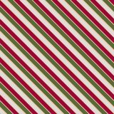 Vector seamless texture in Christmas colors with slating lines . EPS 10 vector illustration