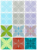 Vector seamless texture with circles Stock Photography