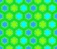 Vector seamless texture. The circular mosaic tiles Stock Photos