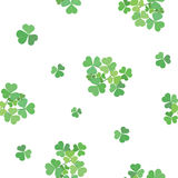 Vector seamless texture with clover Stock Photo
