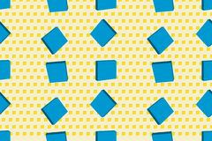 Vector seamless texture with cubes. Modern background. EPS 10 vector illustration