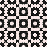 Vector seamless texture, deco art pattern. Monochrome geometric Stock Images