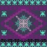 Vector seamless texture. Ethnic tribal geometric pattern Royalty Free Stock Photos