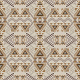 Vector seamless texture. Ethnic tribal geometric pattern Stock Images