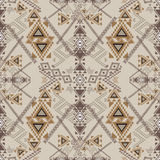 Vector seamless texture. Ethnic tribal geometric pattern Stock Photo