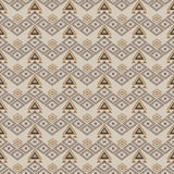 Vector seamless texture. Ethnic tribal geometric pattern. Aztec ornamental style Royalty Free Stock Photos