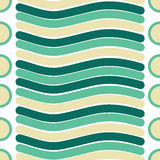 Vector seamless texture of line and circle pattern. Seamless texture of line and circle pattern Stock Images