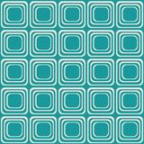 Vector seamless texture with rounded squares looking like old tv. EPS 10 stock illustration
