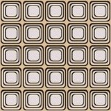 Vector seamless texture with rounded squares looking like old tv. EPS 10 vector illustration