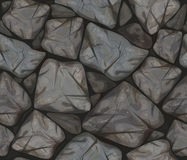 Vector seamless texture stonewall. Royalty Free Stock Photos
