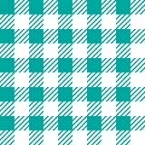 Vector seamless texture with vichy cage ornament. Green and white cages. Vector seamless texture with vichy cage ornament royalty free illustration
