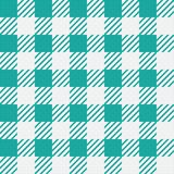 Vector seamless texture with vichy cage ornament. Green and white cages. Vector seamless texture with vichy cage ornament stock illustration