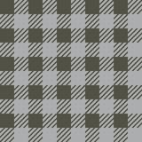 Vector seamless texture with vichy cage ornament. Grey and khaki cages. Vector seamless texture with vichy cage ornament royalty free illustration