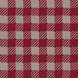 Vector seamless texture with vichy cage ornament. Red and grey cages. Vector seamless texture with vichy cage ornament vector illustration