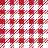 Vector seamless texture with vichy cage ornament. Red and white cages. Vector seamless texture with vichy cage ornament vector illustration