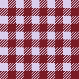 Vector seamless texture with vichy cage ornament. Red and white cages. Vector seamless texture with vichy cage ornament royalty free illustration