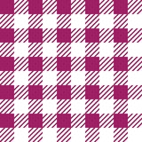 Vector seamless texture with vichy cage ornament. White and pink cages. Vector seamless texture with vichy cage ornament royalty free illustration