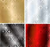 Vector seamless textures Royalty Free Stock Image