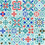 Vector Seamless Tile Pattern Royalty Free Stock Photography