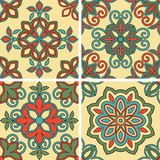 Vector Seamless Tile Patterns Stock Photography