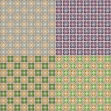 Vector seamless tiled pattern. Wallpaper backgroun Stock Photo