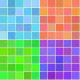 Vector seamless tiles pattern set Royalty Free Stock Images