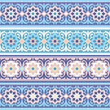 Vector seamless Traditional Muslim floral  ornamen Stock Photo